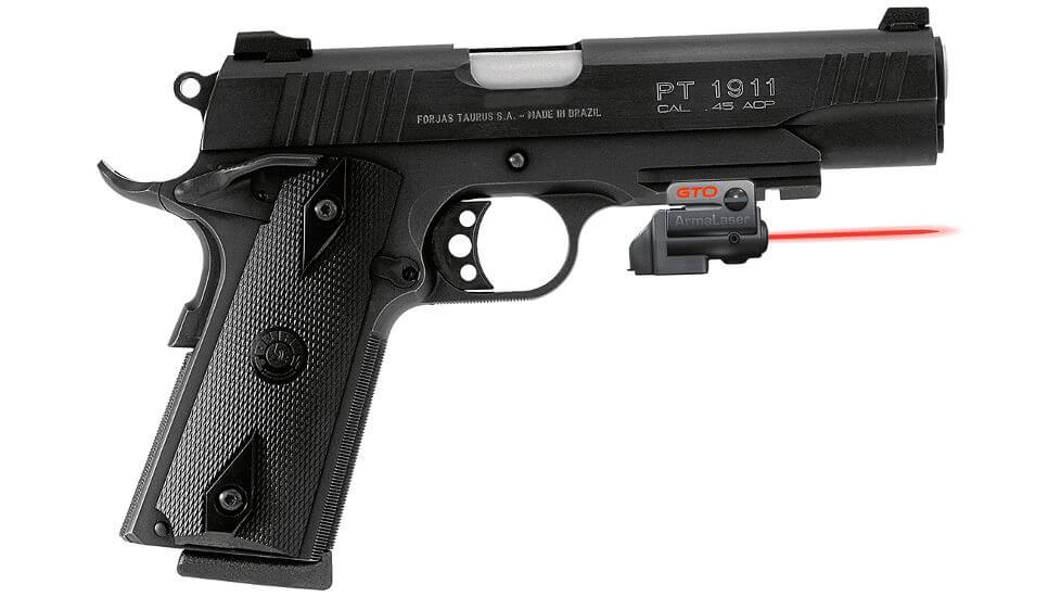 ArmaLaser GTO FLX Finger Touch Red Laser Sight
