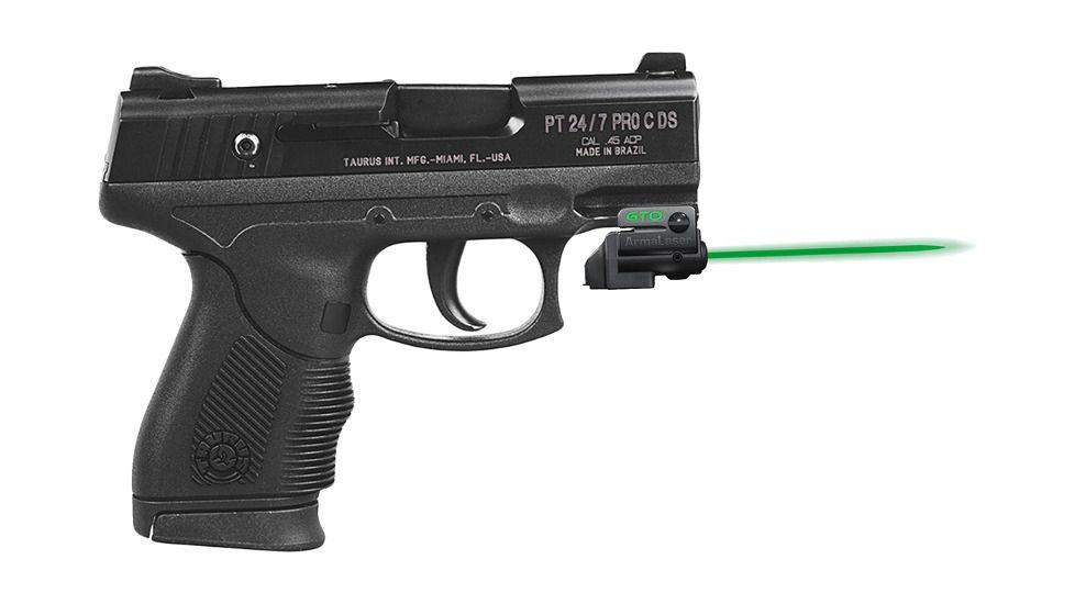 ArmaLaser Taurus PT111 PT140 Millennium G2 G2C G2S G3 TR23G Green Laser Sight with Grip Activation