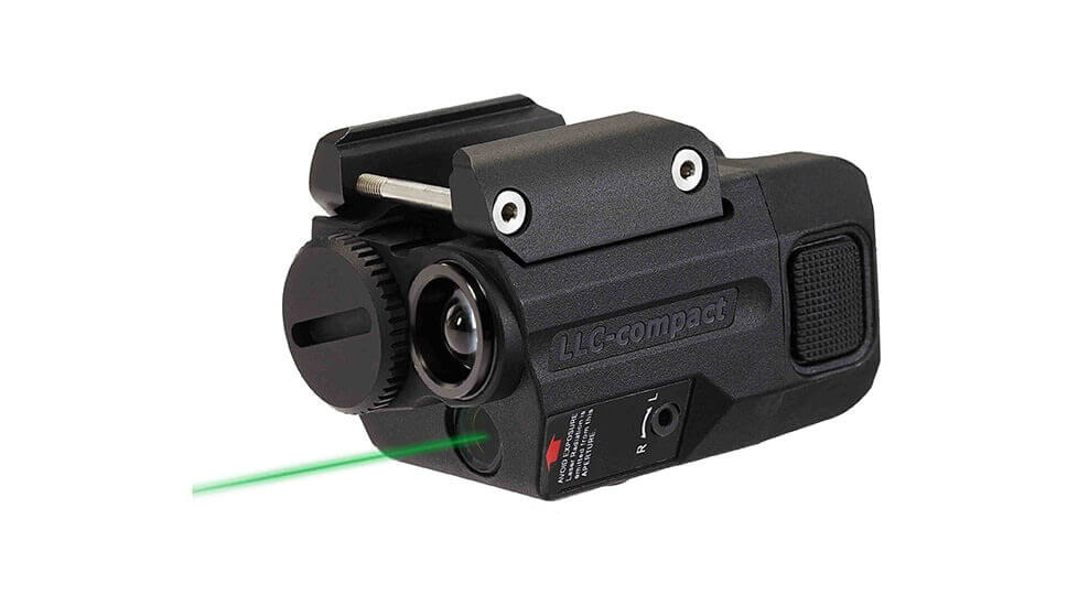 Beamshot LLC-compact Green Laser Sight and Tactical Light Combo