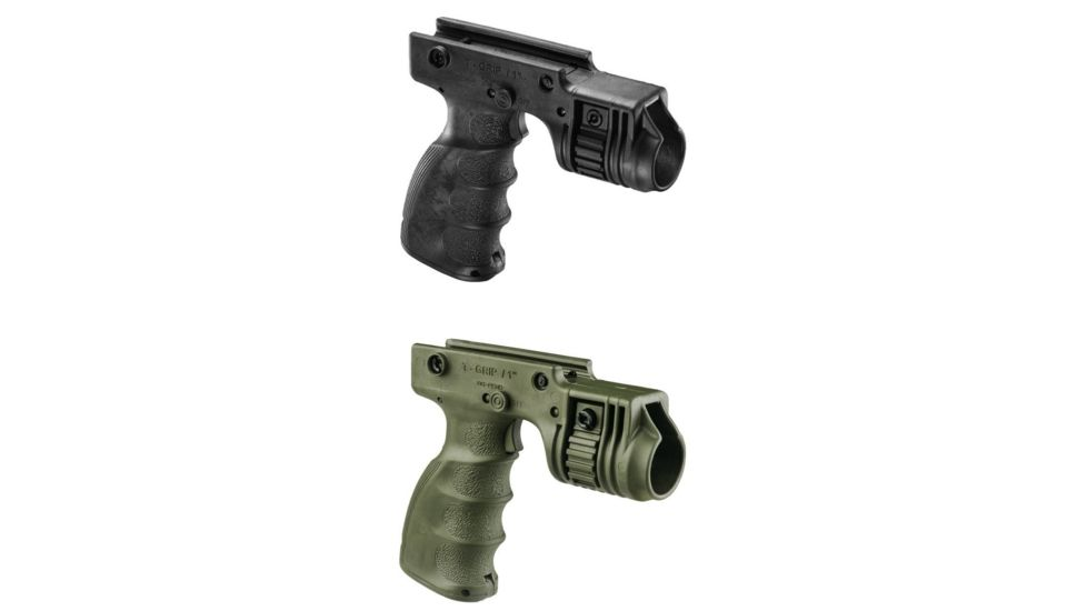 FAB Defense Tactical Grip & 1in. Flashlight Adapter