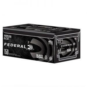 Federal Black Pack 223 Remington Ammo