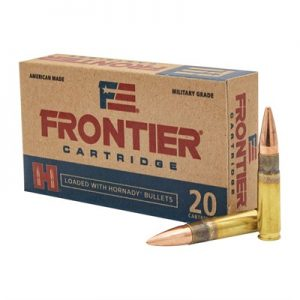 Hornady Frontier 300 Blackout Ammo