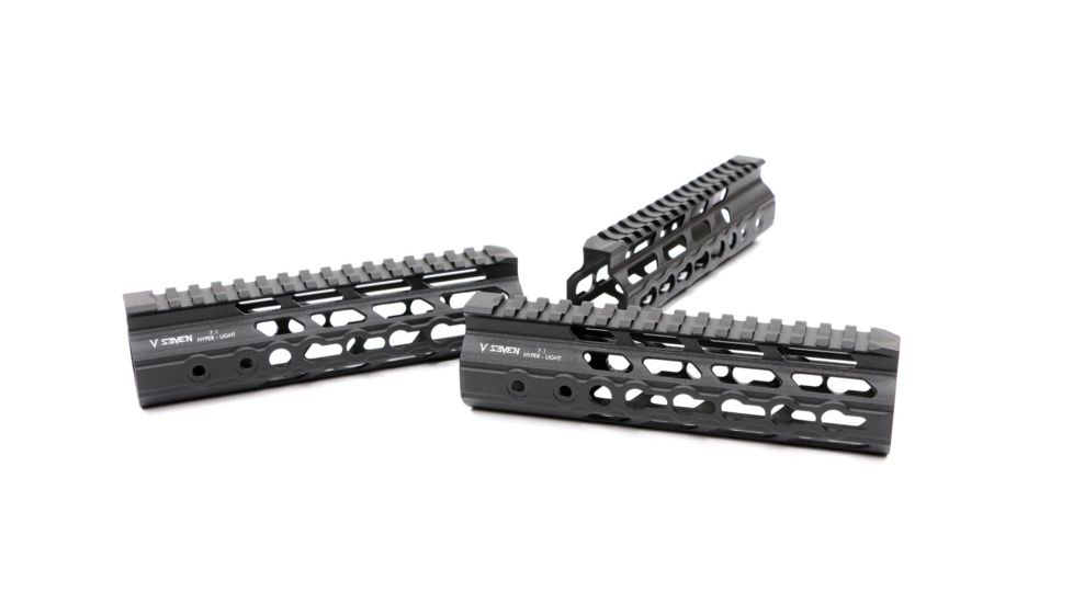 V Seven AR-15 Hyper-Light Magnesium M-Lok Handguard