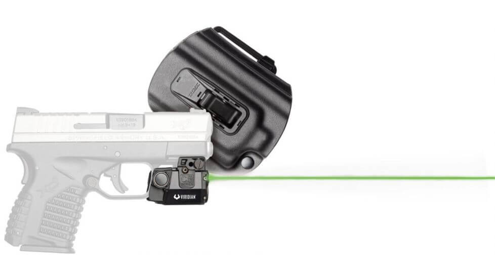 Viridian Universal Sub-Compact ECR Green Laser Tactical Light