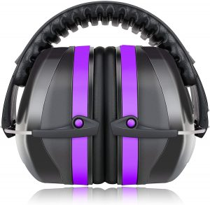 Fnova 34dB Highest NRR Safety Ear Muffs - Professional Ear Defenders for Shooting