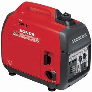 Honda EU2000I Quiet 2000 Watt Portable Generator with Inverter