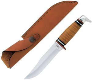 W.R. Case & Sons Leather Hunter XX Fixed Blade Knife