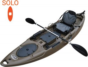 Brooklyn Kayak Company RA220 11.6' Single Fishing Kayak