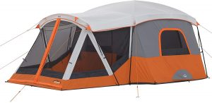 CORE 11-Person Family Cabin Tent with Screen Room