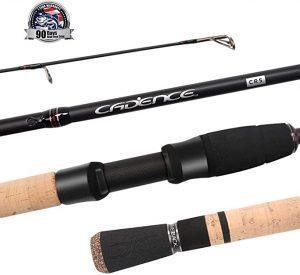 Cadence Spinning Rod, CR5-30 Ton Carbon Casting and Ultralight Fishing Rod