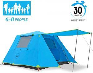KAZOO Waterproof 6-8 Person Pop-Up Tent