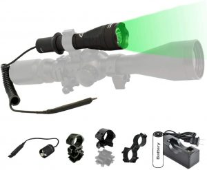 Orion H30 Green or Red Premium 273 Yards Predator Hog Varmint Hunting Flashlight Light Kit