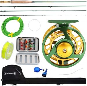 Sougayilang Fly Fishing Rod & Reel