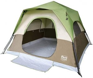 Timber Ridge 6-Person Instant Tent with Rainfly