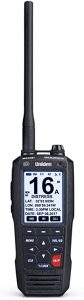Uniden MHS335BT 6W Class D Floating Handheld VHF Marine Radio and GPS