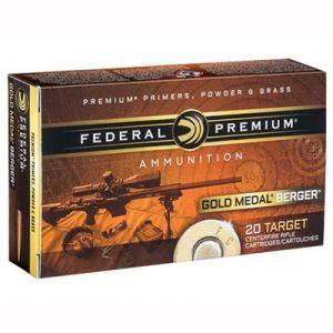 Federal Gold Medal Berger 6.5 Creedmoor 130 Grain OTM