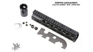 Griffin Armament Low Pro Rigid M-LOK Rail