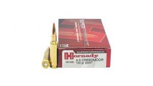 Hornady Superformance 6.5 Creedmoor 120 Grain GMX