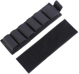 Yosoo Nylon Shotgun Ammo Holder with Adhesive Backing Strip